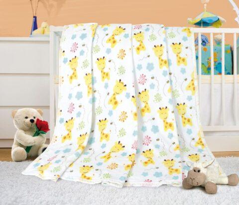 Dětská deka žirafky