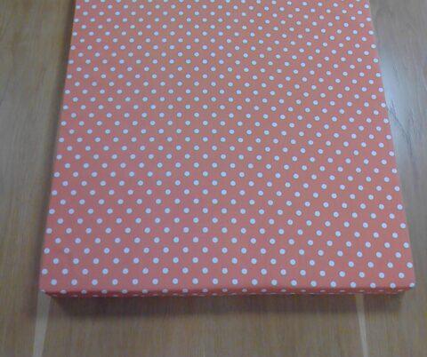 Dětská matrace oranžová